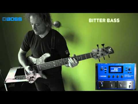 [BOSS TONE CENTRAL]Funk-Fusion Synth Bass Collection by Tamas Barabas