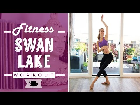 Swan Lake Fitness - Full Body Workout | Lazy Dancer Tips
