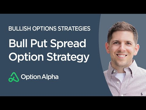 Bull Put Spread Option Strategy – Options Trading Strategies – Bullish Options Strategies