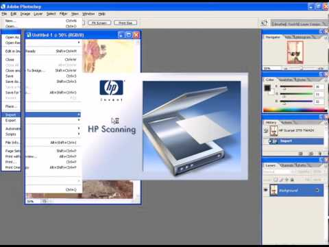 Photoshop CS2 - Phan 22 - Bai 1 - Scan hinh vao Photoshop