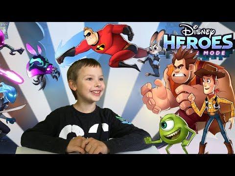 Disney Heroes: Battle Mode - Pojedynek Superbohaterów!