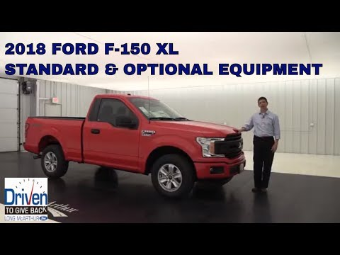 2018 FORD F-150 XL OVERVIEW: STANDARD & OPTIONAL EQUIPMENT
