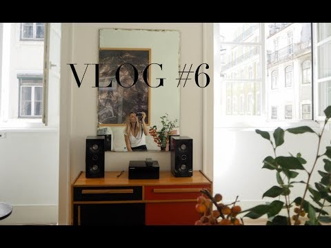 Weekly vlog #6 | Paris Fashion Week with Lacoste & Lisbon with my mum