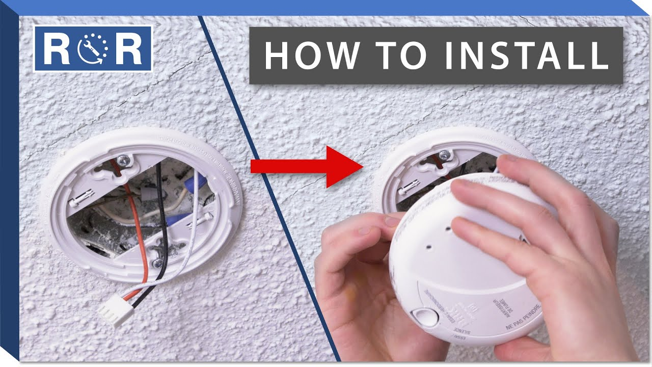 how to install a smoke detector | repair and replace