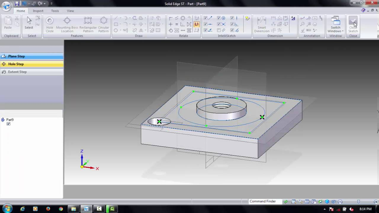 SQUARE TOOL POST PART 02 BASE PLATE & SQUARE TOOL POST PART 02 BASE PLATE - YouTube
