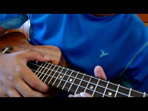 how to play firestone on the ukulele