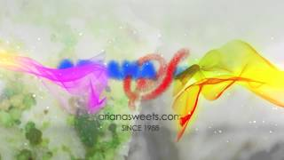 Ariana Sweets Logo Animation 2013 | Afghan Desserts | Afghan Sweets