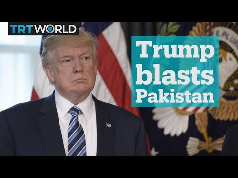 Trump blasts Pakistan