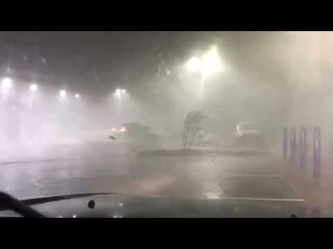 El Reno storm causing tornado