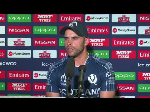 CWCQ : Scotland Kyle Coetzer Post match press conference 21th March 2018