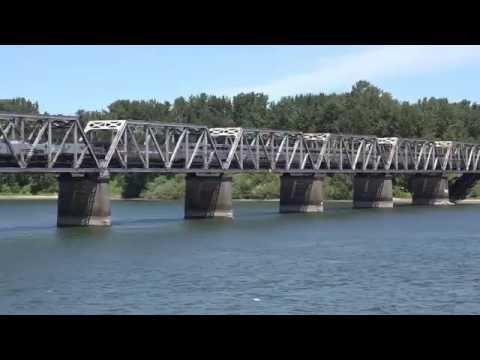 Cascader SBD on BNSF Railroad bridge across Columbia River off Marine Drive @ Portland, OR 6/2016