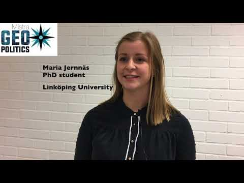 I look forward to more collaboration in the programme - Maria Jernnäs