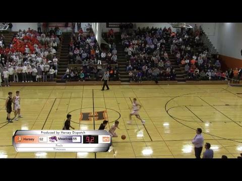 Hersey Boys Basketball vs Rolling Meadows