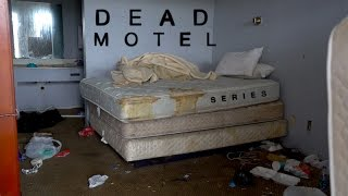 Creepiest Motel Ever : Possible Murder Scene with Bloody Handprint #DeadMotelSeries