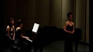 "Ashley Batten singing ""Ah, che odor di buono"" by Donaudy at her senior recital at Carnegie Mellon University. Accompanied by Karen Roethlisberger Verm on ..."