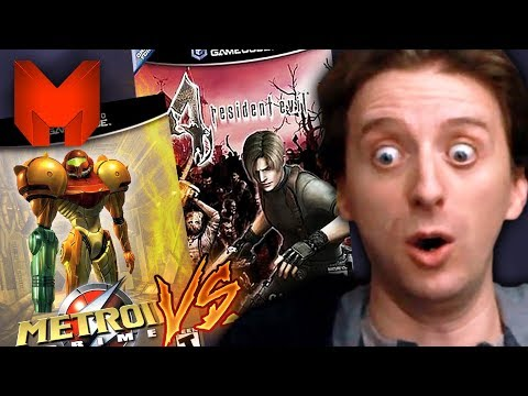 The BEST GameCube Games? Resident Evil 4 vs Metroid Prime - Madness