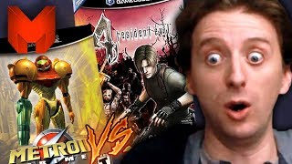 The BEST GameCube Games? Resident Evil 4 vs Metroid Prime - Madness