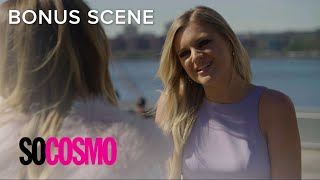 "Kelsea Ballerini Meets ""Cosmo's"" Editor-in-Chief 