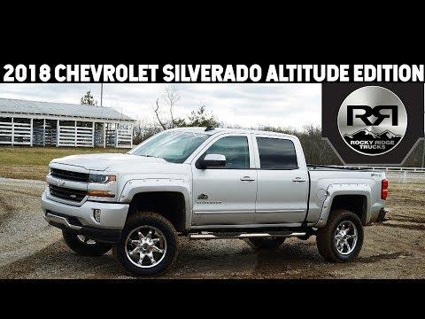 2018 Chevrolet Silverado 1500 Rocky Ridge Altitude Edition @ Dan Cummins Chevy/ Buick