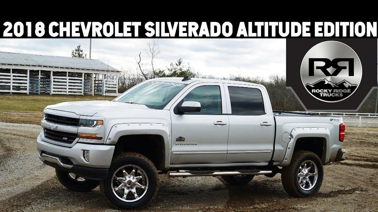 2018 Chevrolet Silverado 1500 Rocky Ridge Altitude Edition ...