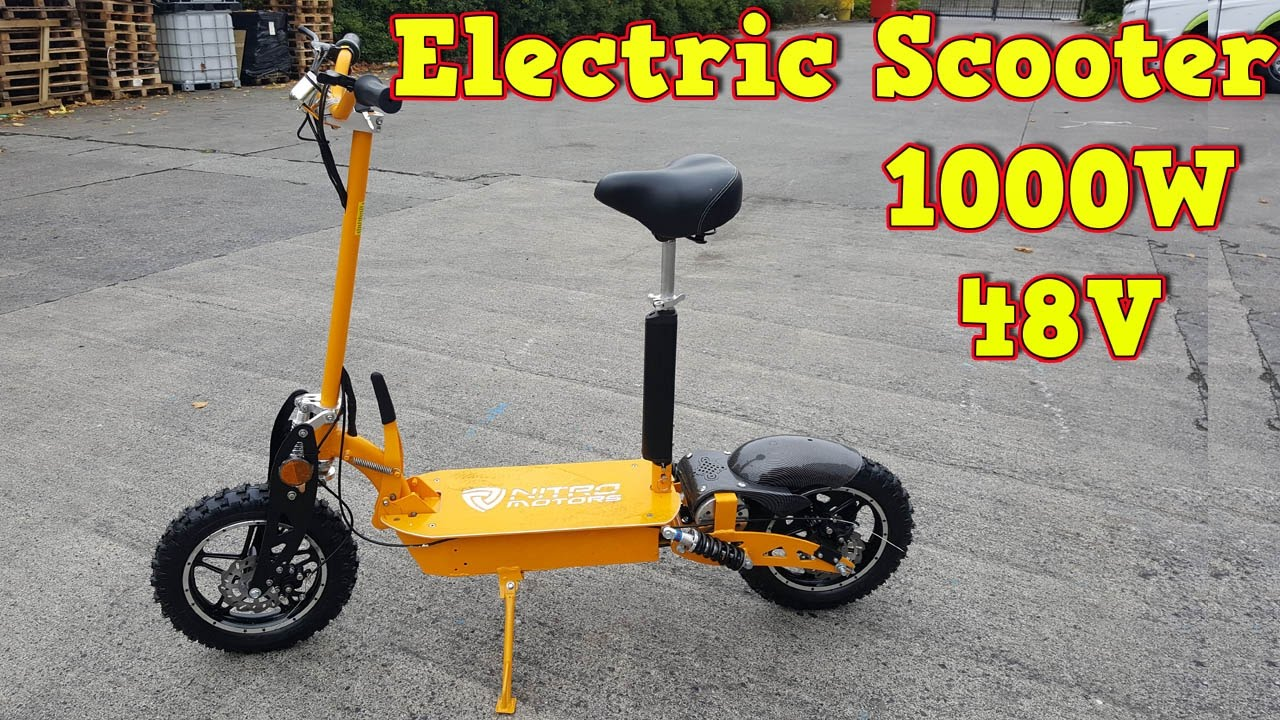 1000w 48v electric scooter review and test run twister. Black Bedroom Furniture Sets. Home Design Ideas