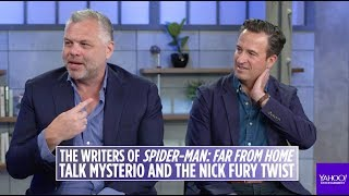 Baixar 'Spider Man: Far From Home' writers on Tom Holland, the ending and more [extended interview]