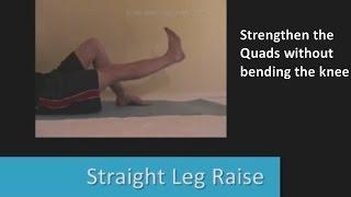 بالفيديو.. تمرين لتقوية مفصل الركبة