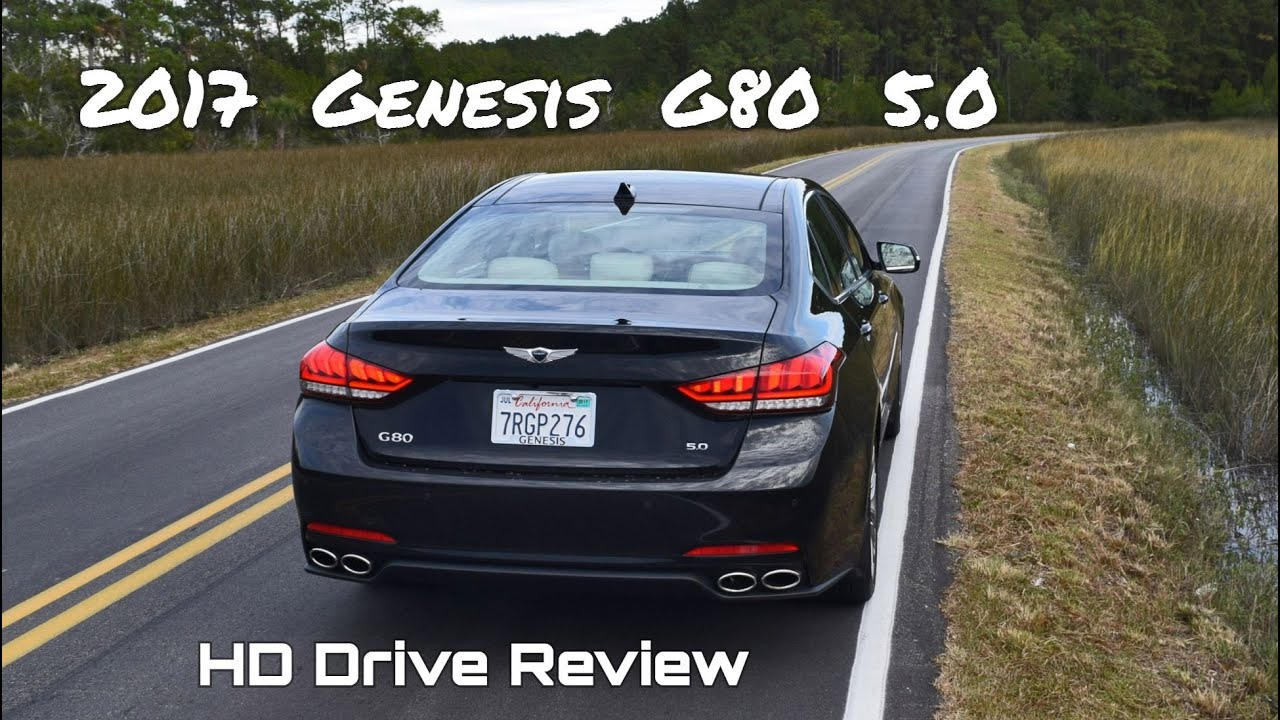 2017 Genesis G80 5 0 Ultimate V8 Hd Performance Drive Review