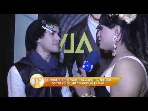 TV Fama 09/06/2014 - Sam Alves Coloca Fim A Boatos  'não Sou Gay'