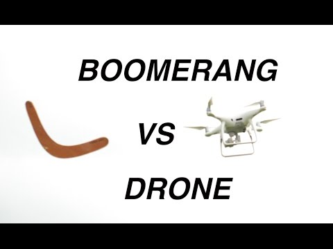 Drone versus a flying boomerang in accidental mid-air collision