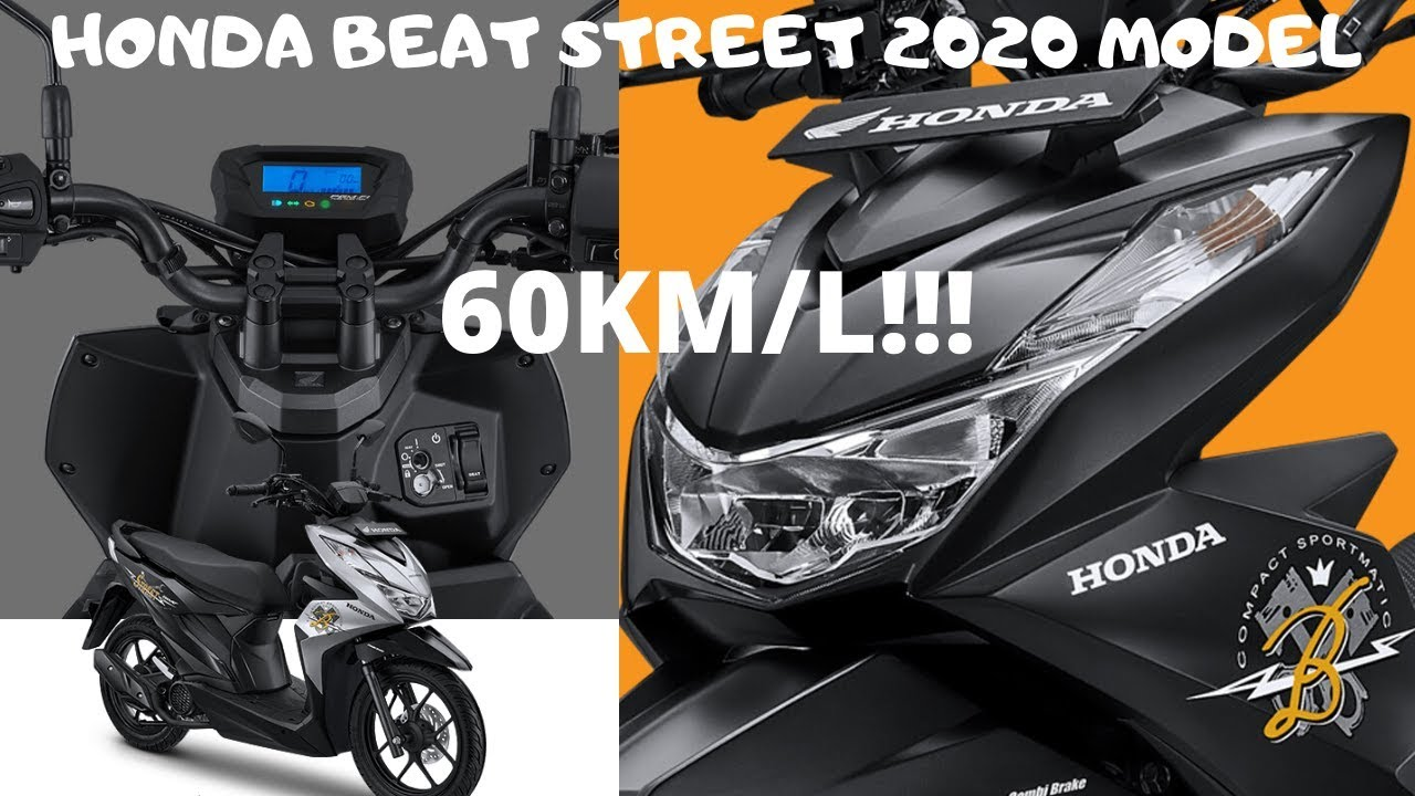 Honda Beat Street 2020 Model Review New Features Youtube