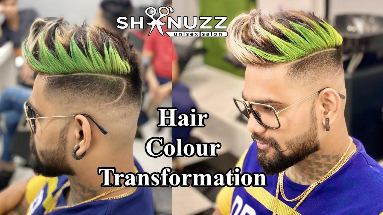 Mahesh Chavan Hair  Transformation | crazy color | Tattoo King | Shanuzz Salon