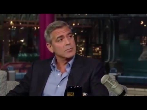 George Clooney  old full interview on David Letterman Late Show