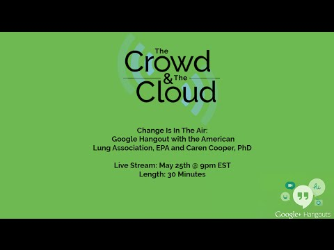 Live Google Hangout: Change Is In The Air