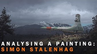 Analysing a Painting: Simon Stalenhag