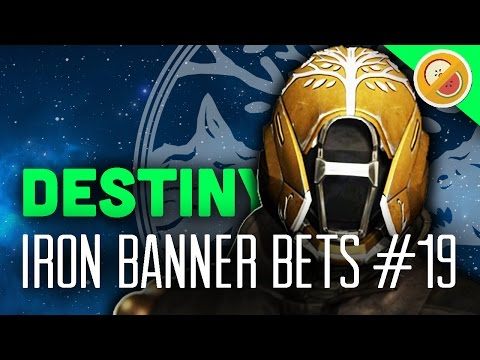 Destiny Iron Banner Bets #19 - The Dream Team (Rise of Iron)