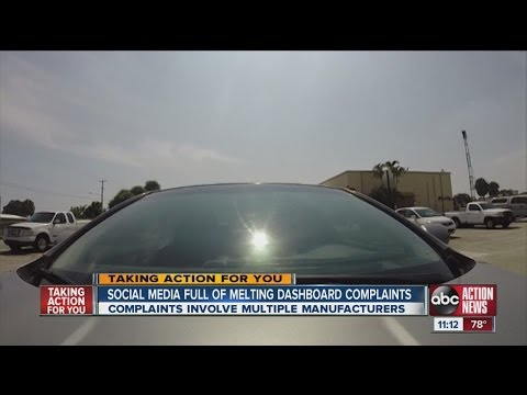 Drivers Complain Of Melting Dashboards