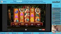 Montezuma Win | WMS | Novibet Casino