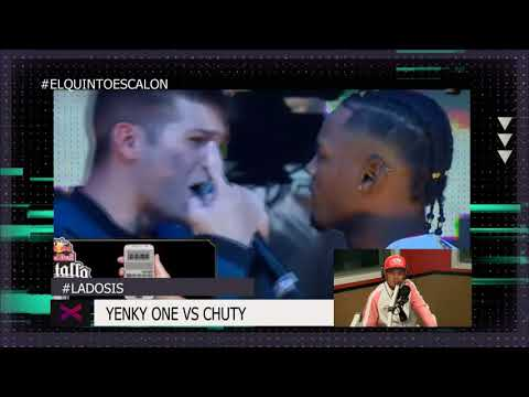 DTOKE Analiza Chuty vs Yenky One - El Quinto Escalon Radio (05/12/17)