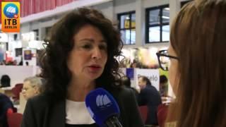 Matilde Asián valora las buenas previsiones turísticas de Canarias