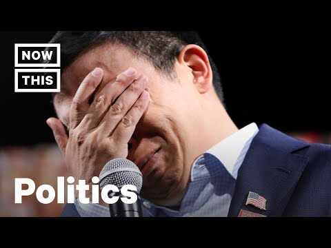 Andrew Yang Breaks Down After Hearing Gun Violence Story | NowThis