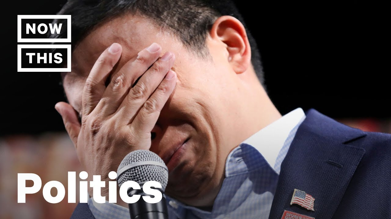 Download Andrew Yang Breaks Down After Hearing Gun Violence Story   NowThis