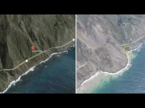 Another Massive Landslide Cuts Off California Highway to Big Sur