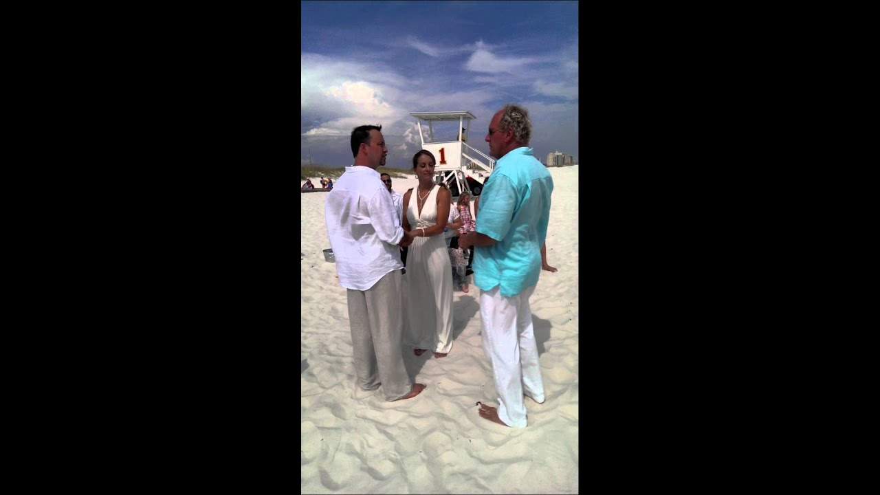 Pardue wedding on Orange beach