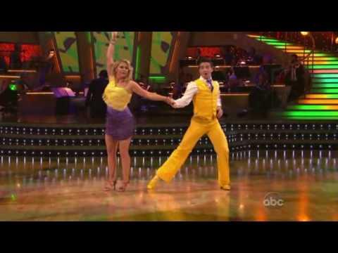 Melissa Joan Hart & Mark Ballas  Salsa
