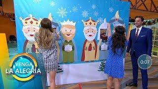¡Ponle la corona al rey! Este día de Reyes también te sorprendemos con un juego.| Venga La Alegría