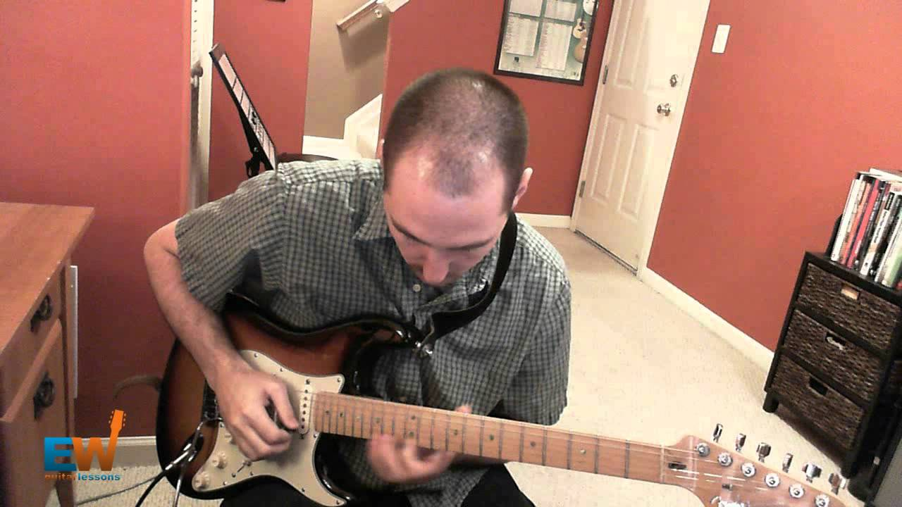 how to play landslide solo