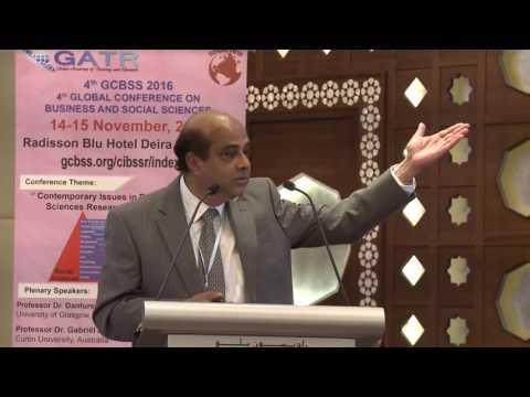4th GCBSS Conference, Dubai, UAE: Plenary Speech-3