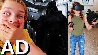 #AD OCULUS QUEST Vader Immortal Experience w/ The Norris Nuts