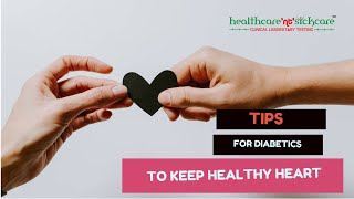 ... to maintain a healthy heart, diabetes requires constant management of blood sug...